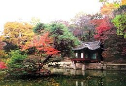 Huwon or commonly referred to rear garden in Seoul, Korea; dating back to 1405 and likely influenced by Chinese gardens