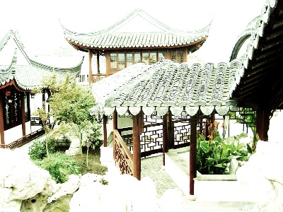 "I label this - architecturally fitted - it is in fact, the Northern end of the Dunedin Chinese Garden "" Lan Yuan,"" where aesthetics, must play their part in the garden design, too."