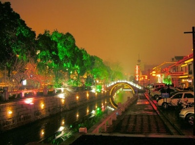 Photo of Downtown Suzhou City
