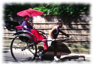 Rickshaw for giving visitors a wonderful experience of ancient China.