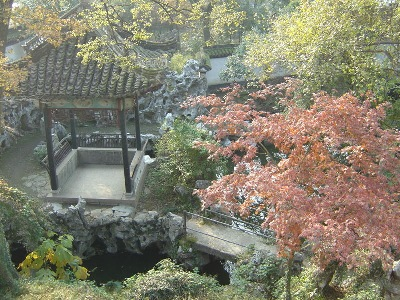 Photo from above, of a pavilion in Nanxun - provided by my Shtyle.fm friend Ms Rebecca.