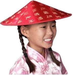 Chinese sun hat for a protection from the sun.