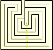 Creatan maze design from 5000 years ago.