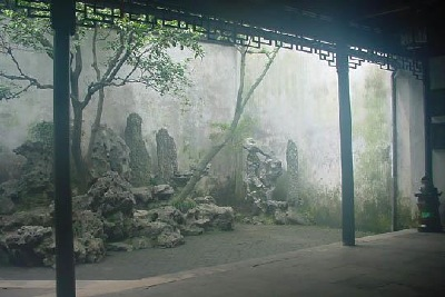 Lion Grove Garden Rocks, Suzhou
