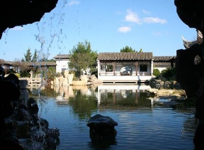 MALTA - Santa Lucija - Chinese Garden Representation - The Garden of Serenity