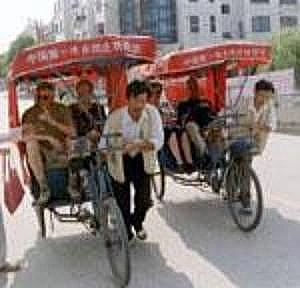 New Pedicabs, in New China