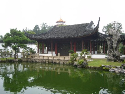 Singapore Penjing Main Hall from the right