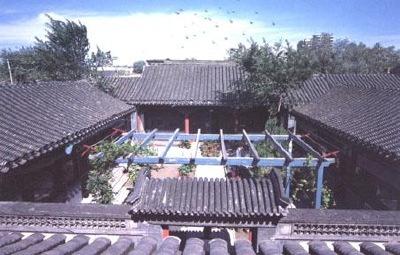 Above the Siheyuan Entrance