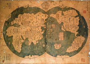 18th Century, controversial Zheng He map