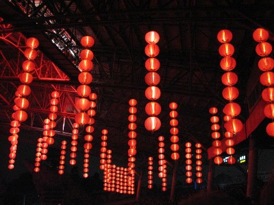 Last, yet hardly least - a beautiful array of Chinese traditional lanterns, in Splendid China of Shenzhen City.